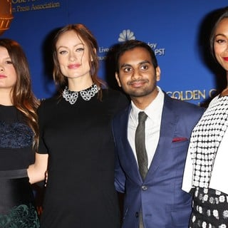 Olivia Wilde in 71st Annual Golden Globe Awards Nominations Announcement - bacon-wilde-ansari-saldana-71st-annual-golden-globe-awards-nominations-01