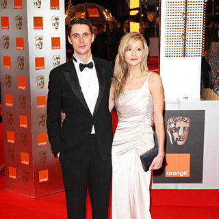 Matthew Goode, Sophie Dymoke in The Orange British Academy Film Awards (BAFTA Awards) - Arrivals