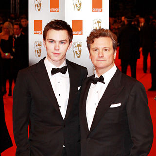 Nicholas Hoult, Colin Firth in The Orange British Academy Film Awards (BAFTA Awards) - Arrivals