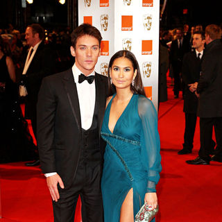 Jonathan Rhys-Meyers, Reena Hammer in The Orange British Academy Film Awards (BAFTA Awards) - Arrivals