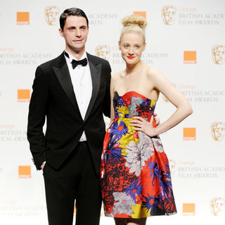 Matthew Goode, Romola Garai in The Orange British Academy Film Awards (BAFTA Awards) - Press Room