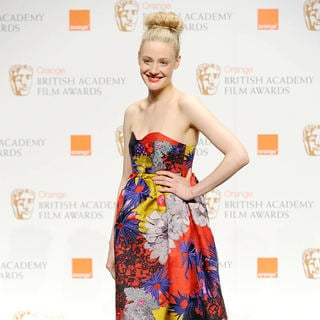 Romola Garai in The Orange British Academy Film Awards (BAFTA Awards) - Press Room