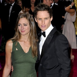 Hannah Bagshawe, Eddie Redmayne in The 85th Annual Oscars - Red Carpet Arrivals