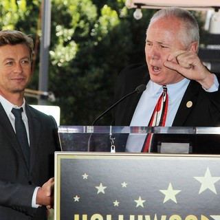 Simon Baker, Tom LaBonge in Simon Baker Is Honoured with A Star on The Hollywood Walk of Fame