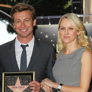 Naomi Watts in Simon Baker Is Honoured with A Star on The Hollywood Walk of Fame - baker-watts-simon-baker-walk-of-fame-05