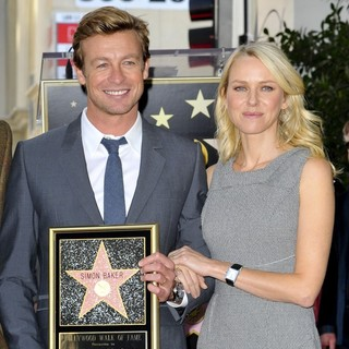 Naomi Watts in Simon Baker Is Honoured with A Star on The Hollywood Walk of Fame - baker-watts-simon-baker-walk-of-fame-07