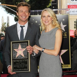 Naomi Watts - Simon Baker Is Honoured with A Star on The Hollywood Walk of Fame