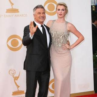 Alec Baldwin, Ireland Baldwin in 65th Annual Primetime Emmy Awards - Arrivals