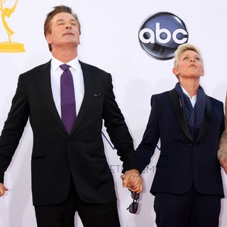 Alec Baldwin, Ellen DeGeneres in 64th Annual Primetime Emmy Awards - Arrivals