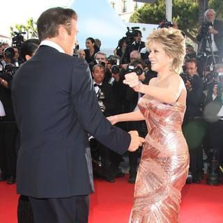 Alec Baldwin, Jane Fonda in Moonrise Kingdom Premiere - During The Opening Ceremony of The 65th Cannes Film Festival