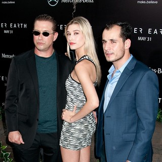 Stephen Baldwin, Hailey Baldwin in New York Premiere of After Earth