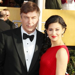 Alec Baldwin, Hilaria Thomas in 19th Annual Screen Actors Guild Awards - Arrivals