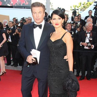 Alec Baldwin, Hilaria Thomas in Moonrise Kingdom Premiere - During The Opening Ceremony of The 65th Cannes Film Festival