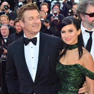 Alec Baldwin, Hilaria Thomas in Killing Them Softly Premiere - During The 65th Cannes Film Festival