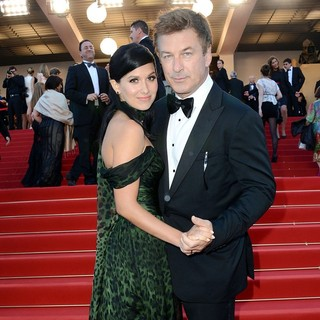 Hilaria Thomas, Alec Baldwin in Killing Them Softly Premiere - During The 65th Cannes Film Festival