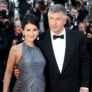 Hilaria Thomas, Alec Baldwin in 66th Cannes Film Festival - Blood Ties Premiere