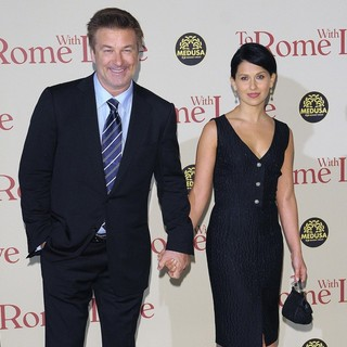 Alec Baldwin, Hilaria Thomas in The Italian Premiere of To Rome with Love