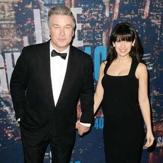 Alec Baldwin - Saturday Night Live 40th Anniversary Special - Red Carpet Arrivals
