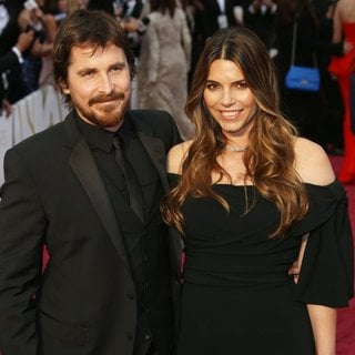 Christian Bale, Sibi Blazic in The 86th Annual Oscars - Red Carpet Arrivals