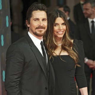 Christian Bale, Sibi Blazic in EE British Academy Film Awards 2014 - Arrivals