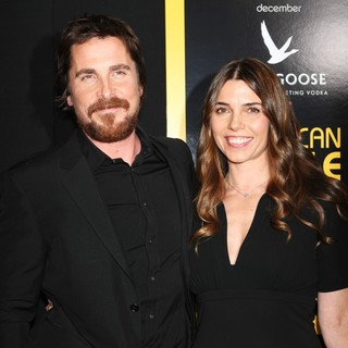 Christian Bale, Sibi Blazic in American Hustle New York Premiere