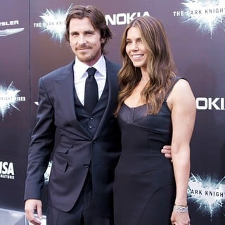 Christian Bale, Sibi Blazic in The Dark Knight Rises New York Premiere - Arrivals