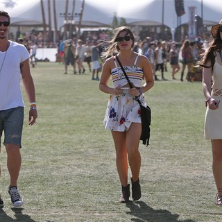 Eric Balfour, Leonor Varela in The 2013 Coachella Valley Music and Arts Festival - Week 1 Day 3