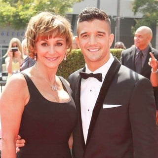 Shirley Ballas, Mark Ballas in 2011 Primetime Creative Arts Emmy Awards - Arrivals