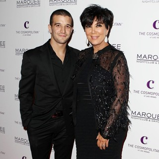 Mark Ballas, Kris Jenner in Kim Kardashian Celebrates Her birthday
