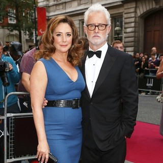 Talia Balsam, John Slattery in The GQ Men of The Year Awards 2012 - Arrivals