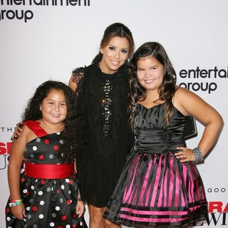 Daniella Baltodano, Eva Longoria, Madison De La Garza in Desperate Housewives Final Season Kick-Off Party