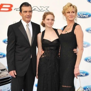 Antonio Banderas, Stella Banderas, Melanie Griffith in The Third Edition of The Starlite Charity Gala