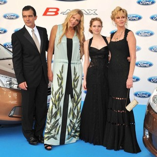Antonio Banderas, Daryl Hannah, Stella Banderas, Melanie Griffith in The Third Edition of The Starlite Charity Gala