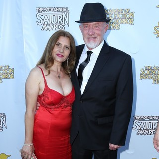 Gennera Banks, Jonathan Banks in The Academy of Science Fiction, Fantasy and Horror Films' 2013 Saturn Awards - Arrivals