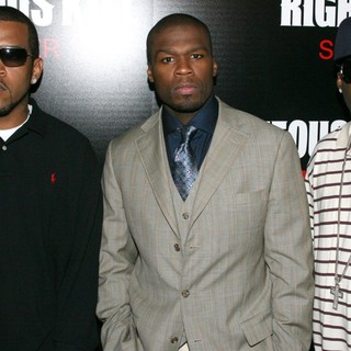 Lloyd Banks, 50 Cent, Tony Yayo in New York Premiere of Righteous Kill - Arrivals