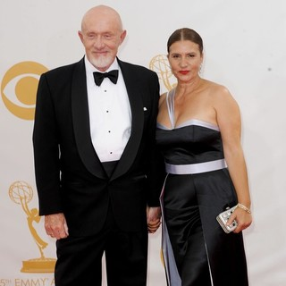 Jonathan Banks, Gennera Banks in 65th Annual Primetime Emmy Awards - Arrivals