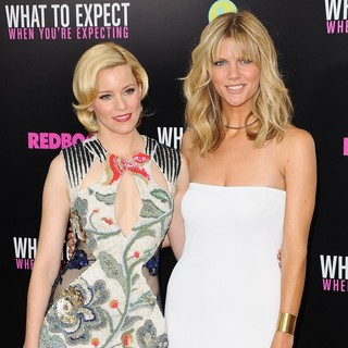 Elizabeth Banks, Brooklyn Decker in What to Expect When You're Expecting New York Premiere