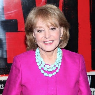 Barbara Walters in Broadway Opening Night of Evita - Arrivals