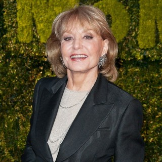 Barbara Walters in The Museum of Modern Art's Party in The Garden 2012
