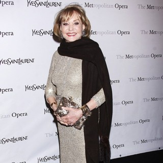 Barbara Walters in The Metropolitan Opera's Premiere of Jules Massenet's Manon - Arrivals
