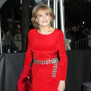 Barbara Walters in The Time 100 Gala