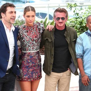 Javier Bardem, Adele Exarchopoulos, Sean Penn, Zubin Cooper in 69th Cannes Film Festival - The Last Face - Photocall