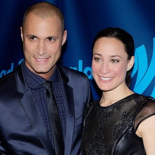 Nigel Barker, Cristen Chin in 24th Annual GLAAD Media Awards - Arrivals