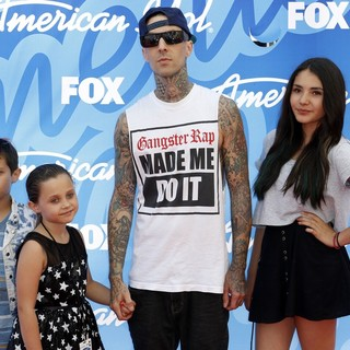 Travis Barker - American Idol Finale Results Show Live - Arrivals