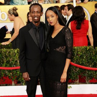 Barkhad Abdi in The 20th Annual Screen Actors Guild Awards - Arrivals