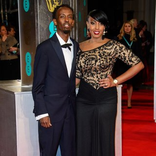 Barkhad Abdi in EE British Academy Film Awards 2014 - Arrivals