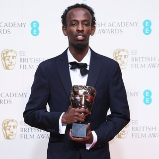 Barkhad Abdi in EE British Academy Film Awards 2014 - Press Room
