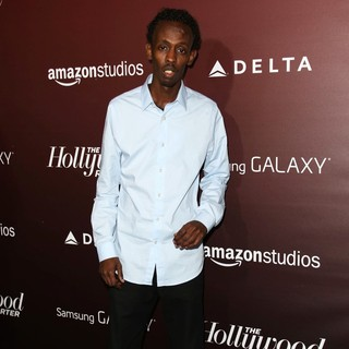 Barkhad Abdi in The Hollywood Reporter's Next Gen 20th Anniversary Gala