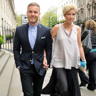 Gary Barlow, Dawn Barlow in The 57th Ivor Novello Awards - Arrivals