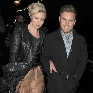 Dawn Barlow, Gary Barlow in The BRIT Awards 2011 Afterparty